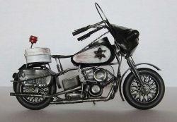 Historická motorka 34 cm