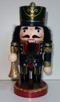 Dřevěná figurka vojáček Louskáček 21 cm (09800096)