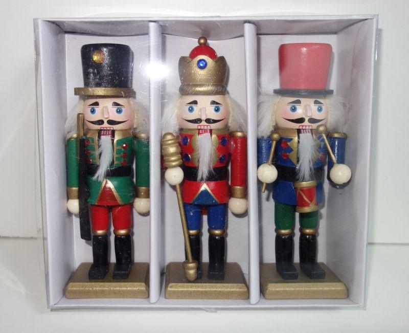 Dřevěné figurky vojáček Louskáček 16 cm (098000097)