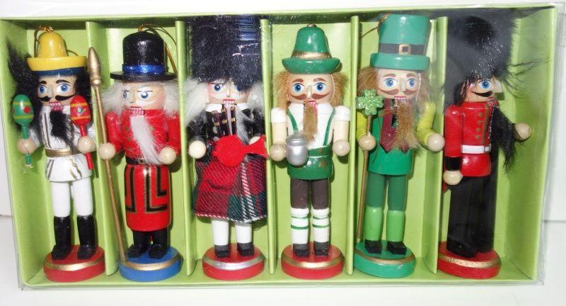 Dřevěné figurky balení 6 kusů (098088)