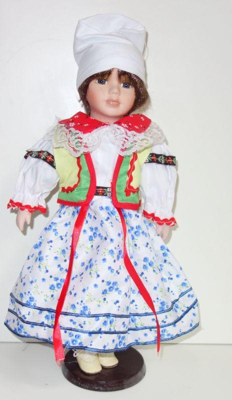 Porcelánová panenka - 42 cm (043714)