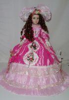 Porcelánová panenka 57 cm