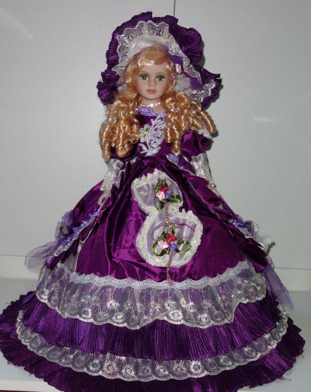 Porcelánová panenka 57 cm (570006)