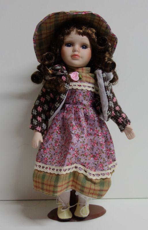 Porcelánová panenka Boženka- 32 cm (03222)