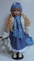 Porcelánová panenka Claudia 63 cm
