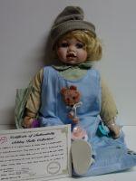 Porcelánová panenka Dominik - 50 cm