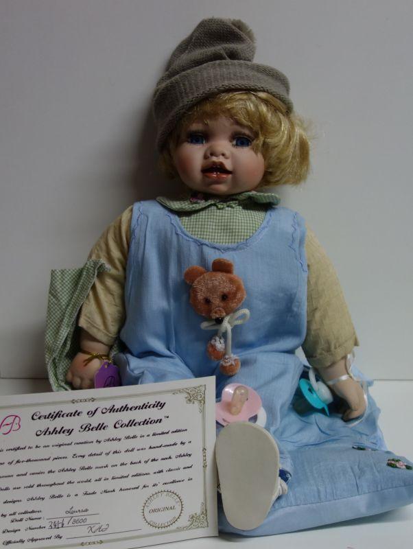 Porcelánová panenka Dominik 50 cm (570009)