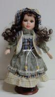 Porcelánová panenka Dragana - 32 cm
