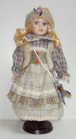 Porcelánová panenka Elsa - 42 cm (042715)