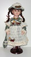 Porcelánová panenka Franceska 50 cm