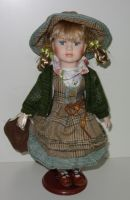 Porcelánová panenka Františka - 32 cm (032203)