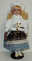 Porcelánová panenka Glorie - 42 cm (042723)