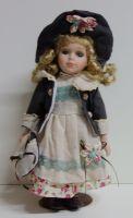 Porcelánová panenka Janička - 32 cm (032228)