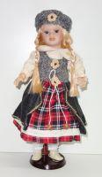 Porcelánová panenka Karolína - 42 cm (042699)