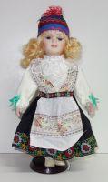 Porcelánová panenka Lucie - 32 cm