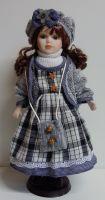Porcelánová panenka Majka - 42 cm (042716)