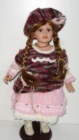 Porcelánová panenka Markéta - vinyl - 57 cm otáčecí hlava (999119)
