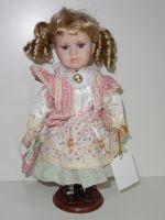 Porcelánová panenka Míla - 32 cm