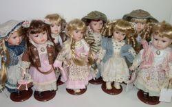 Porcelánová panenka Míla - 32 cm (032199)