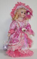 Porcelánová panenka Miluška - 32 cm (032244)