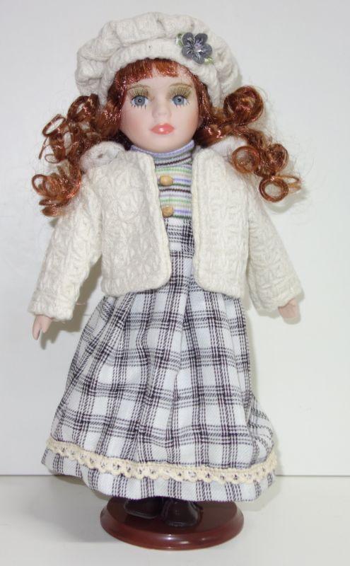 Porcelánová panenka Naďa - 32 cm (032216)
