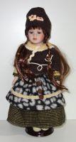 Porcelánová panenka Niky- 42 cm (042690)