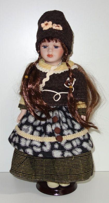 Porcelánová panenka Niky - 42 cm (042690)