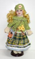 Porcelánová panenka Nina - 42 cm (042702)