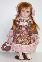 Porcelánová panenka Olinka - 32 cm (032245)