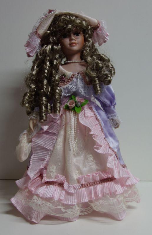 Porcelánová panenka -Princezna Diana - 42 cm (043705)