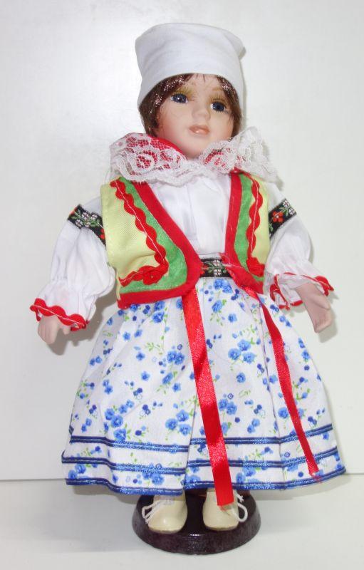 Porcelánová panenka Romana - 32 cm (032214)