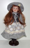 Porcelánová panenka Šárka- 42 cm (042689)