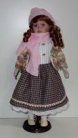 Porcelánová panenka Silvinka - 42 cm (042692)