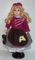 Porcelánová panenka  Síma-  - 42 cm