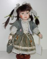 Porcelánová panenka Simonka - 32 cm