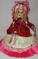 Porcelánová panenka Valerie 57 cm