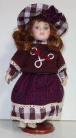 Porcelánová panenka Věruška - 32 cm (032246)
