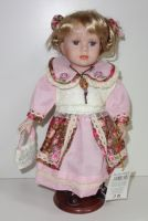 Porcelánová panenka Viktorka - 32 cm (032195)