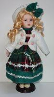 Porcelánová panenka  Zdena - 42 cm