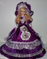 Porcelánová panenka 50-65 cm