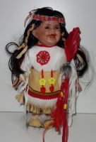 Porcelánový Indián (0420247)