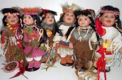 Porcelánový Indián (0420248)