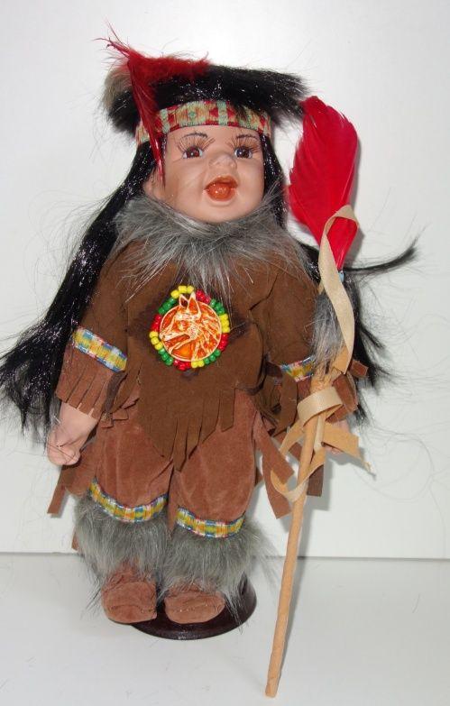 Porcelánový Indián (0420251)