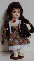 Porcelánová panenka  - 22 cm (025198)