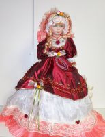 Porcelánová  panenka Valerie 57 cm (570013)