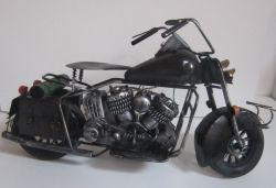 Plechová Historická motorka (099045)