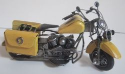 Historická motorka 23 cm