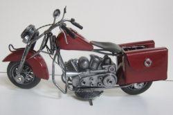 Plechová historická motorka - velikost 24 cm (0990066)