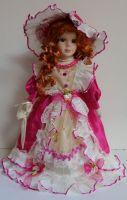 Porcelánová panenk Ella - 42 cm