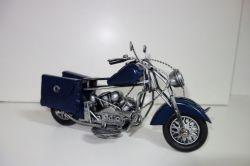 Kovová historická motorka  23 cm